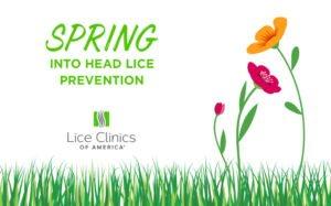 spring into head lice prevention